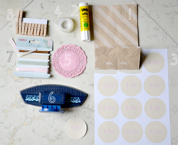 Amato Tutorial sacchetti confetti fai da te con centrini e buste craft IO63