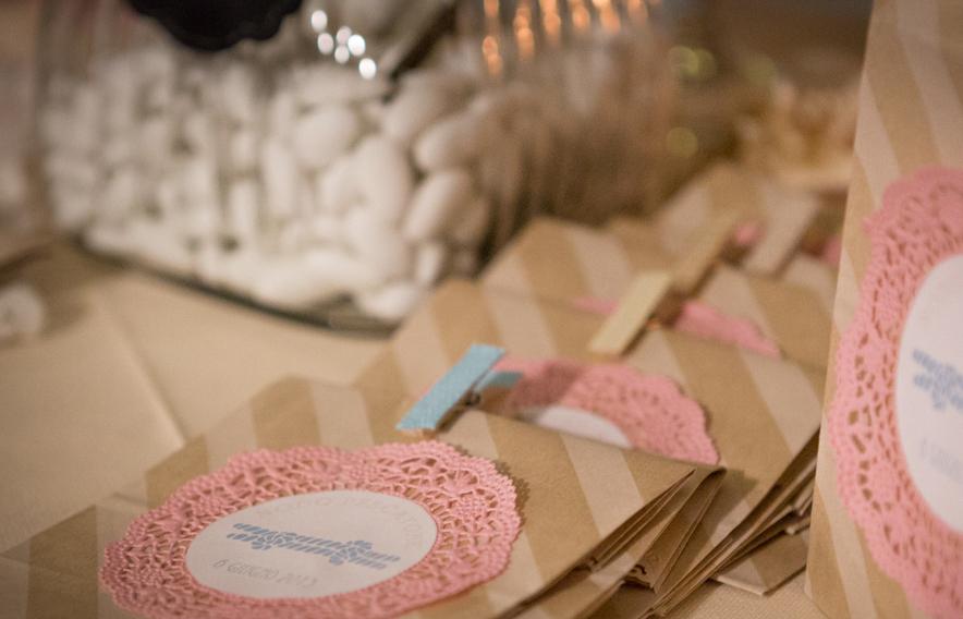 Famoso Tutorial sacchetti confetti fai da te con centrini e buste craft RE05