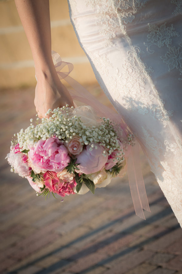 Bouquet sposa romantico con peonie e ortensie  My Wedding