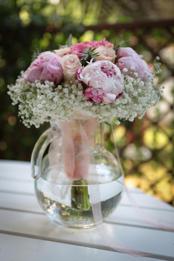 Eccezionale Bouquet sposa romantico con peonie e ortensie | My Wedding FM67