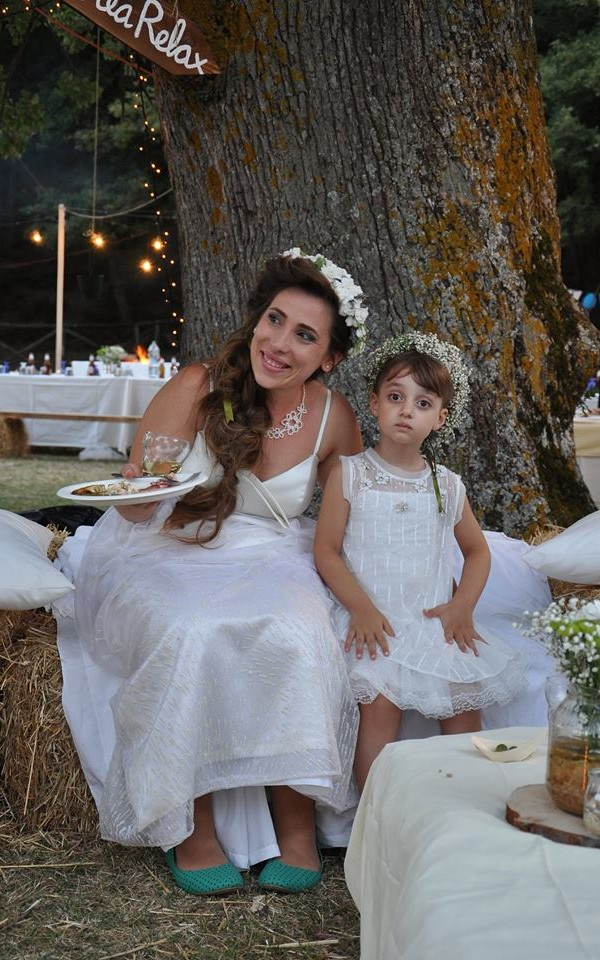 matrimonio green: abito da sposa