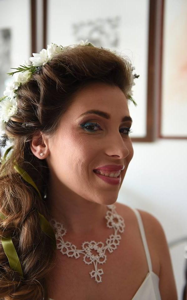accessori sposa per matrimonio green