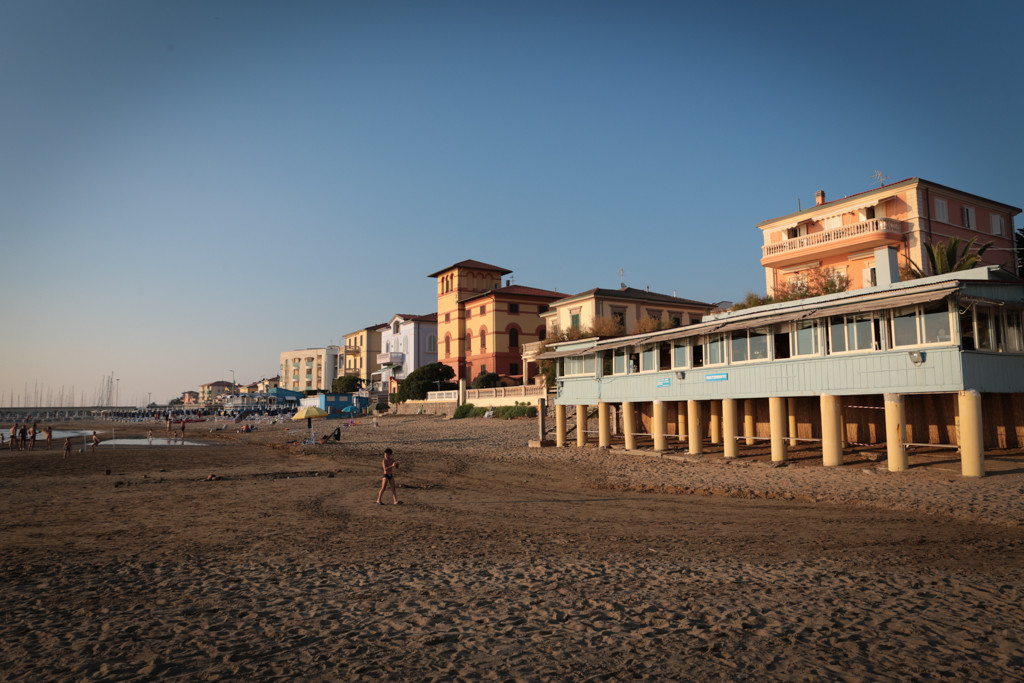 spiaggia di San Vincenzo, Livorno